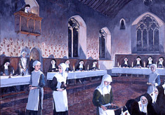 Franciscan nun's refectory
