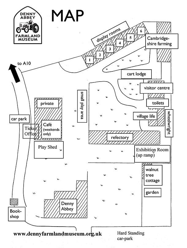 Museum sitemap