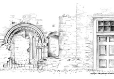 Abbey in Pencil - Sunday 3 July 2016