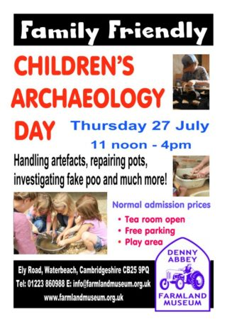 CHILDREN'S ARCHAEOLOGY DAY