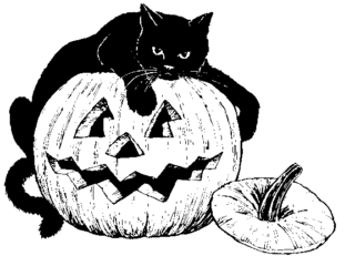 Halloween at Denny