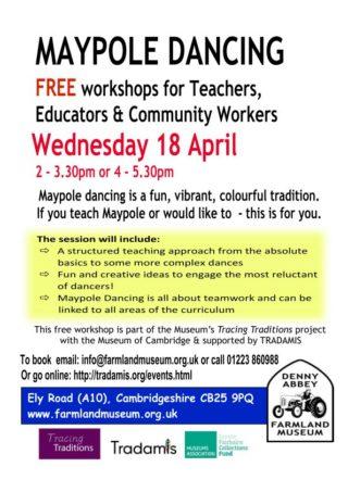 FREE Maypole workshop for teachers, educators & community workers