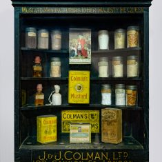 Colman's Mustard Display Cabinet