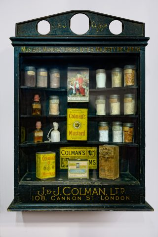 Colman's Mustard Display Cabinet