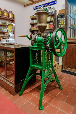Coffee Grinder in the Village Shop
