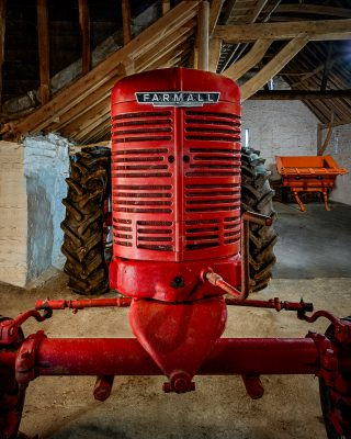 Front Grille of Farmall Tractor