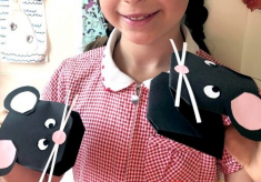Make at Home: Mouse Puppet