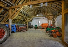 Look Up: Stone Barn Roof