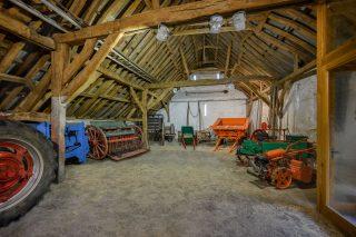 Interior of the Stone Barn